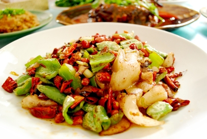 Traditional Sichuan food