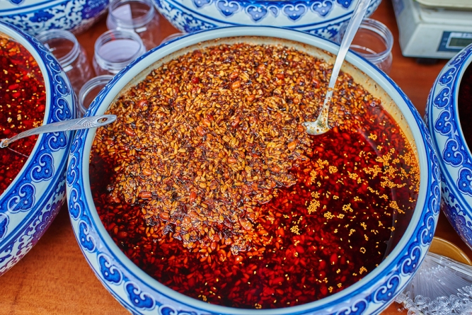 traditional spicy food Sichuan cuisine Sichuan China