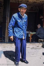 Man in a  Zhongshan or Mao suit